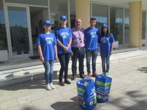Ο αντιδήμαρχος Περιβάλλοντος κ. Βασίλης Παπαβασιλείου με εκπροσώπους της Ε.Ε.Α.Α.