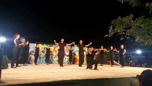 Στιγμυότυπο από το 7ο φεστιβάλ παραδοσιακών χορών και μουσικής που διοργάνωσε ο Μορφωτικός -Πολιτιστικός σύλλογος Θεσπρωτικού με ξεχωριστή επιτυχία