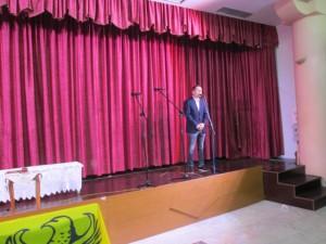 Ο αντιδήμαρχος Πολιτισμού Γκάρτζιος Χρήστος, χαιρετίζει τις εκδηλώσεις