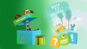 """Το 'παιχνίδι' της ανακύκλωσης συνεχίζεται – Κάθε 10 μέρες και μία νέα """"Πράσινη αποστολή"""""""